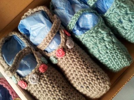 Ballet pump style! Love crochet magazine
