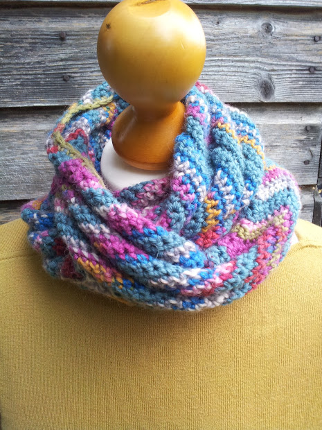 chevron scarf or cowl