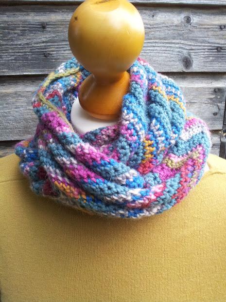 chevron scarf or cowl