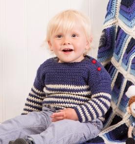 Breton Baby Sweater