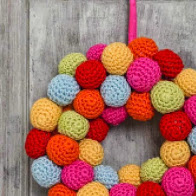 bobble wreath